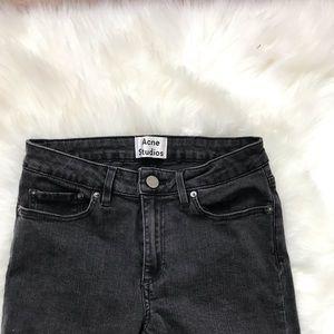 "Acné Studios 9"" High Rise Skinny Jeans Size 27"